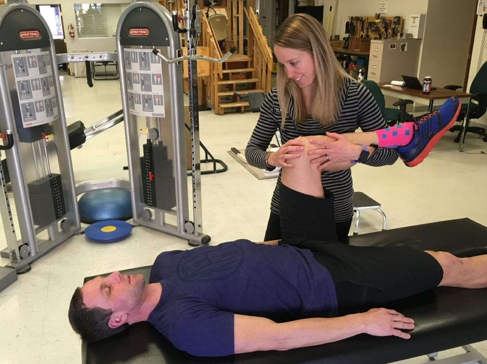Sports physical therapy treatment at Saunders Therapy Centers