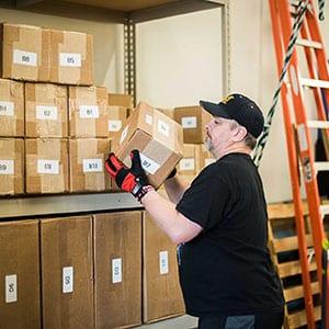 Warehouse client industrial rehabilitation